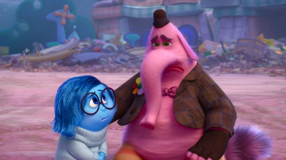 Sitting With Sadness. Lessons From Inside Out.